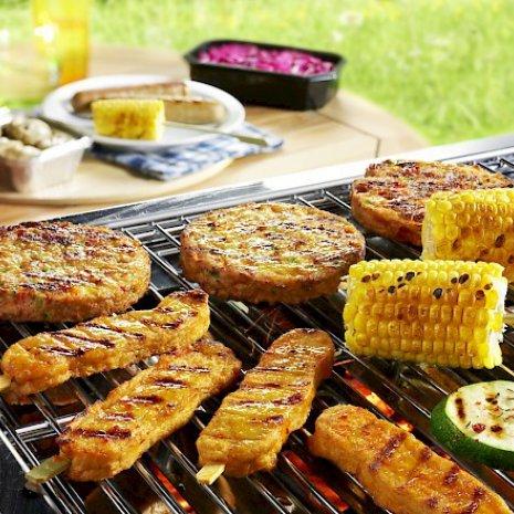 Barbecueschotel Vegetarisch