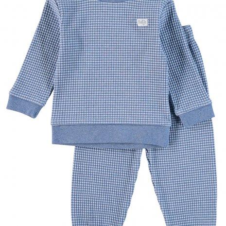Feetje Pyjama wafel - Bluemelee