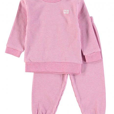 Feetje - Pyjama wafel Rozemelee