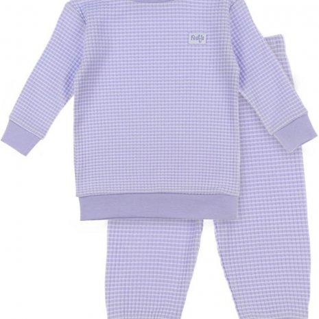 Feetje Pyjama wafel - Autumn special Lila