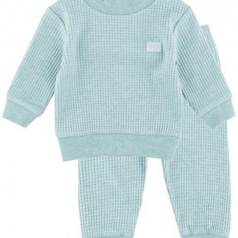 Feetje Pyjama wafel - Groenmelee