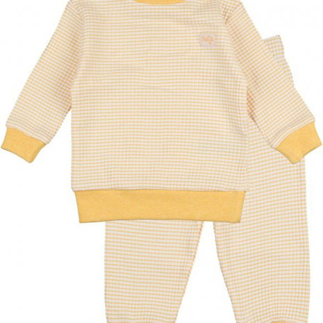 Feetje - Pyjama wafel Okergeel