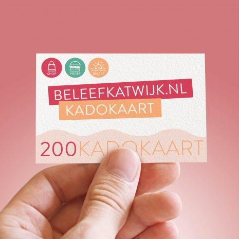 Beleef katwijk Kadokaart 200