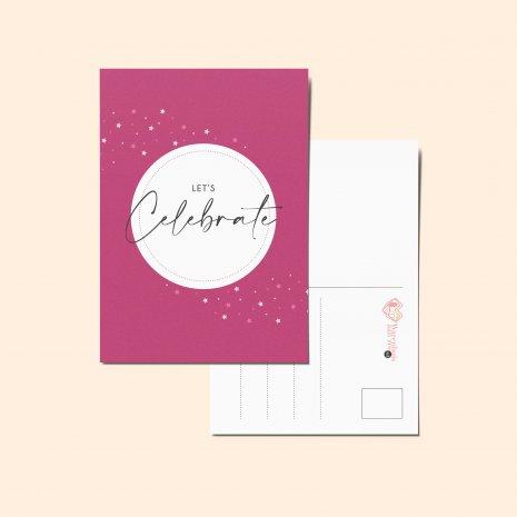 Ansichtkaart - Celebrate