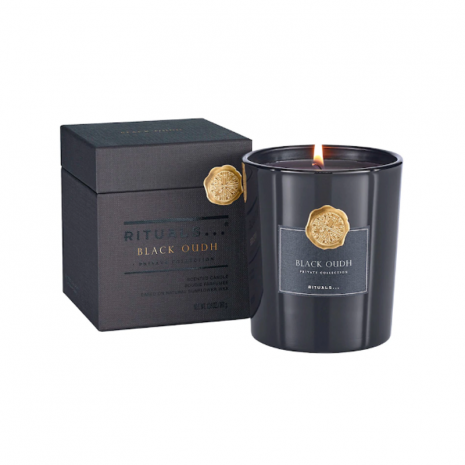 Black Oudh Luxe Scented Kaars