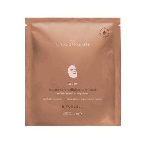 Het Rituals Glow Anti-Aging Sheetmasker
