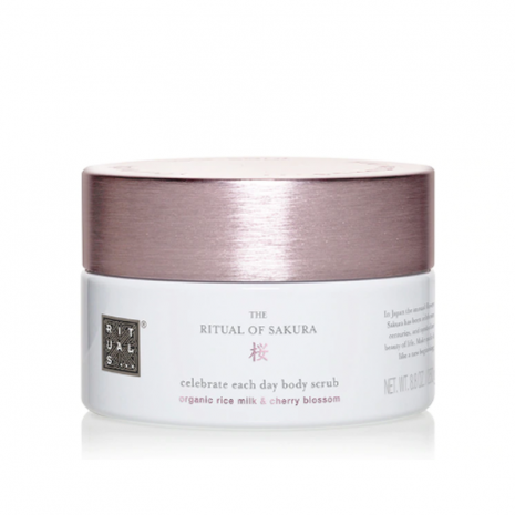 The Ritual of Sakura Bodyscrub