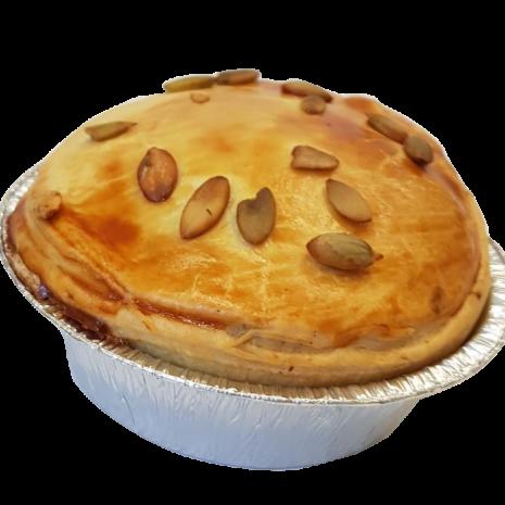 Linzencurry Pie (vegan)