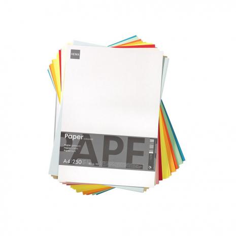 kopieerpapier A4 diverse kleuren