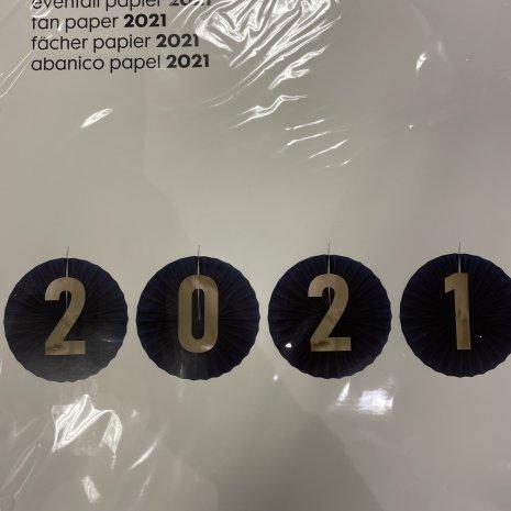 Papieren waaier 2021