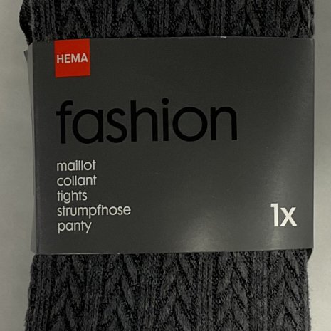Maillot fashion kabel grijs mt. 44/46