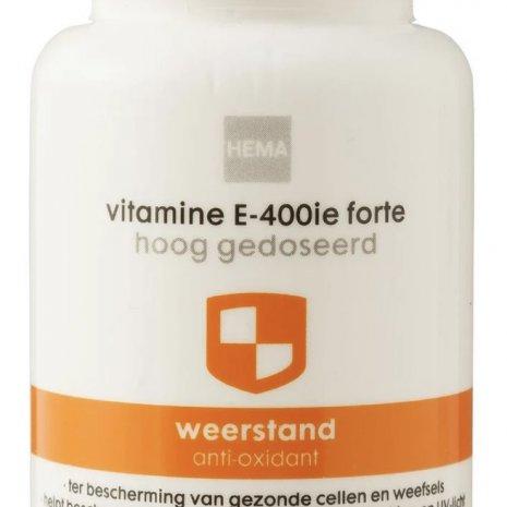 Vitamine E-400ie forte hoog gedoseerd