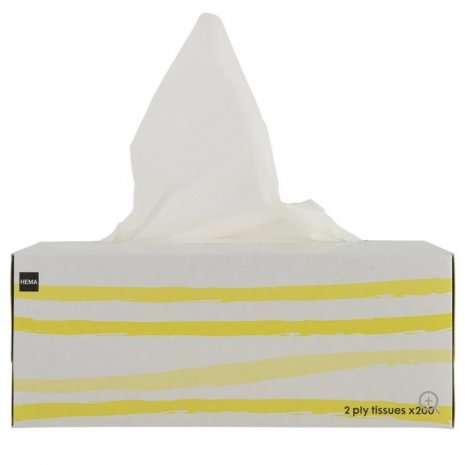 Tissues box 2-laags 200 vel
