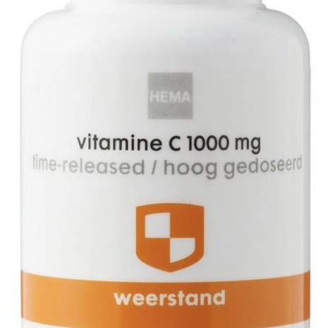 Vitamine c1000 mg time-released