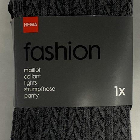 Maillot fashion kabel grijs mt. 36/38