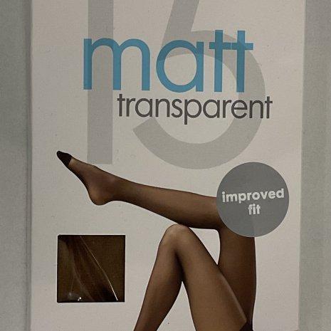 Panty's mat 15 denier naturel mt. 36/38