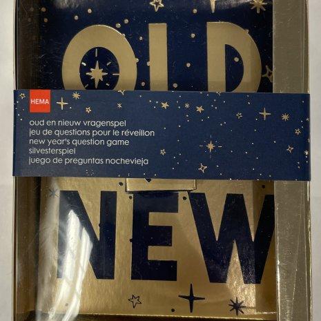 Oud en Nieuw vragenspel