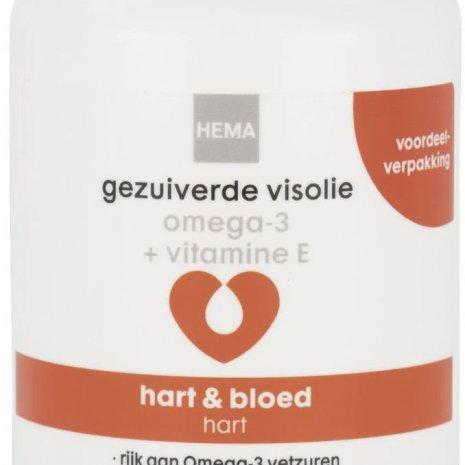 Gezuiverde visolie omega-3 + vitamine E