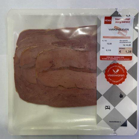 Varkenslever 110 gram