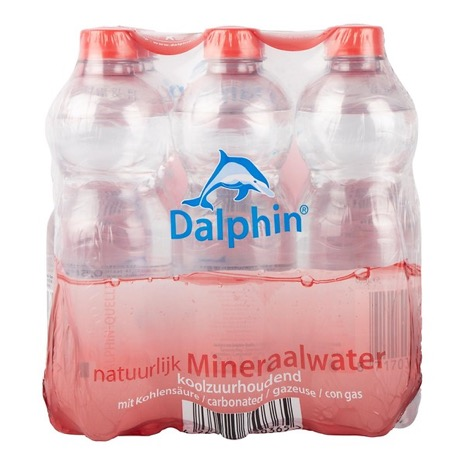 Dalphin water met koolzuur  - 9 x 50 cl