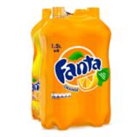 Fanta - 4 x 1,50 liter