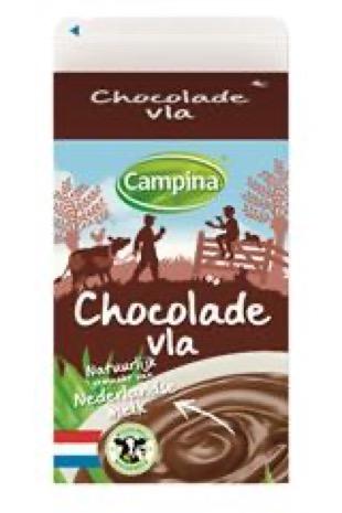 Campina chocolade vla 0.5 l