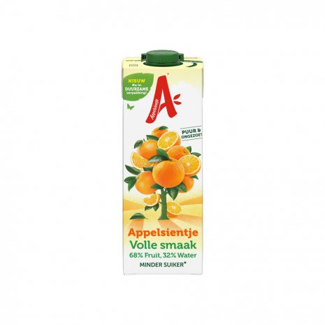 Appelsientje sinaasappelsap VOLLE SMAAK 1.00 liter
