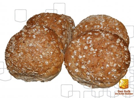 Volkorenbollen - 4 stuks
