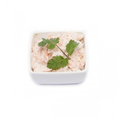 Paling-kreeft salade