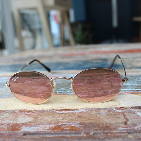 Ray-Ban RB3547 Oval Flat Lenses
