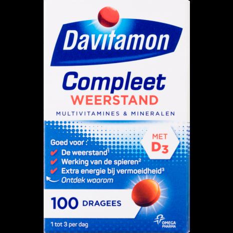 Davitamon Compleet weerstand - Multivitamine