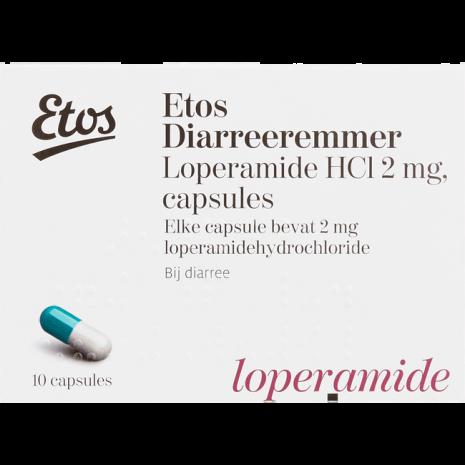 Etos Diarreeremmer Loperamide HCI 2 mg