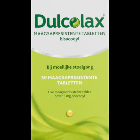 Dulcolax Maagsapresistente Bisacodyl 5 mg Tabletten