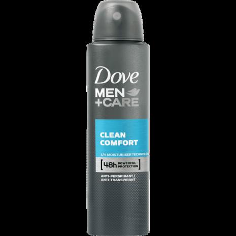 Dove Men+Care Clean Comfort Deodorant Spray