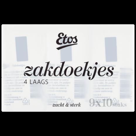 Etos Zacht & Sterk Zakdoekjes