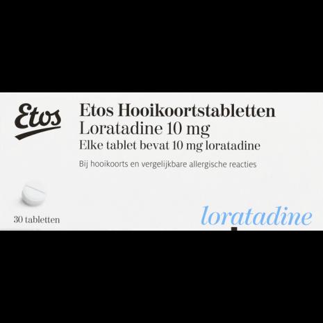 Etos Hooikoortstabletten Loratadine 10 mg
