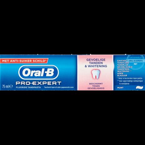 Oral-B Pro Expert Gevoelige Tanden + Whitening Tandpasta