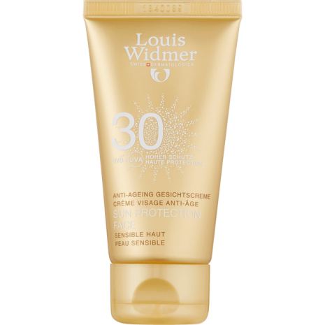 Louis Widmer Sun Protection Face 30 Licht Geparfumeerd