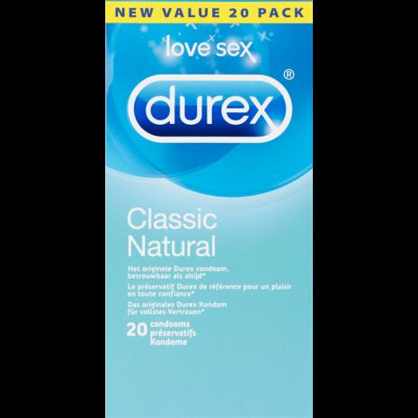 Durex Classic Naturel Condooms