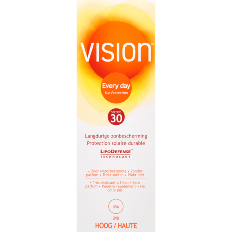 Vision Every Day Langdurige Zonbescherming Tube SPF30