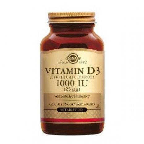 Solgar Vitamin D-3 25 µg/1000 IU