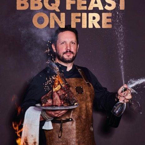 Smokey Goodness. BBQ Feast on Fire.