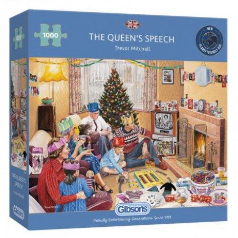 Puzzel The Queen's Speech (1000)