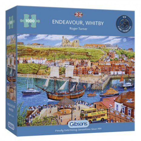 Puzzel Endeavour, Whitby (1000)