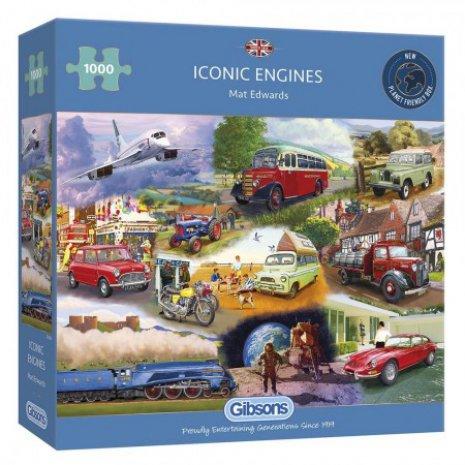 Puzzel Iconic Engines (1000)